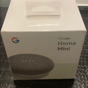 NIB Google Home Mini - Chalk color